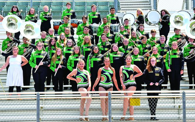 The 2019 Franklin County High School Marching Pride Band