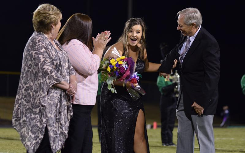 Holly Evans was named the 2019 Franklin County High School Homecoming Queen.