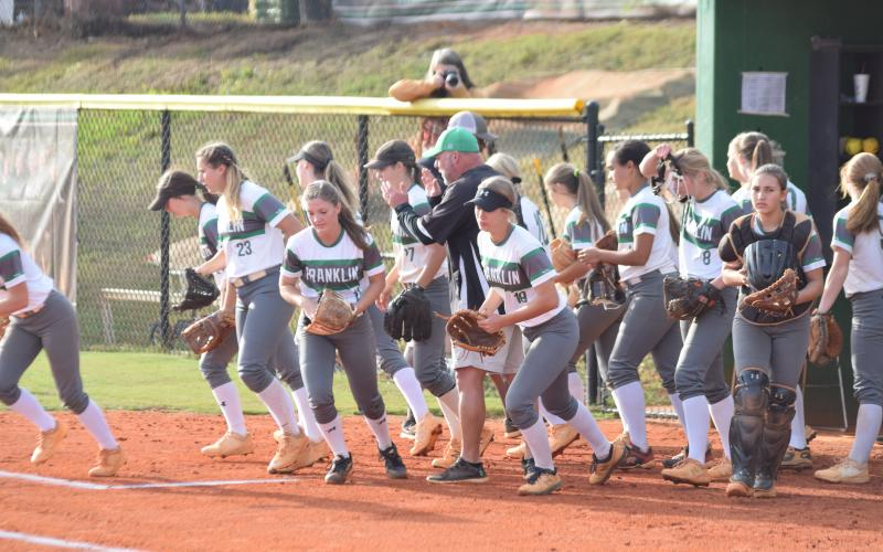 The Franklin County Lady Lions will be on the field at the Elite Eight in Columbus beginning today to play for a second straight state championship.