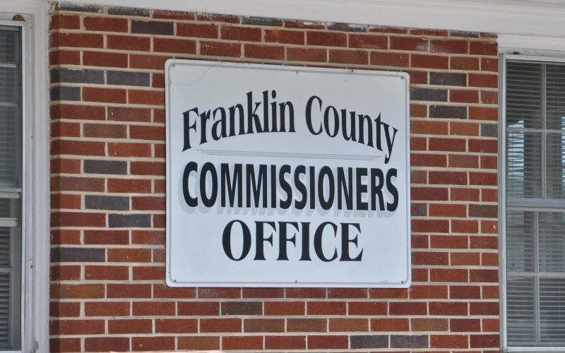 Franklin County's clerk has filed an ethics complaint against the chairman of the board of commissioners and a member of the Franklin-Hart Airport Authority.