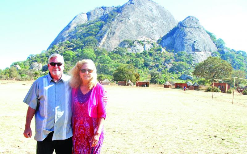 Carnesville's Bob and Janet Claytor make regular trips to the south central African country of Zambia as part of their ministry. Bob is the pastor of Canon and Gaines Chapel United Methodist Churches. The people of the country are hungry for the Gospel of Jesus Christ, the Claytors said.