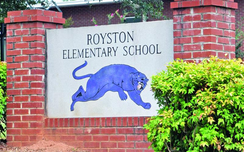A new Royston Elementary School in Franklin Springs is off the table.