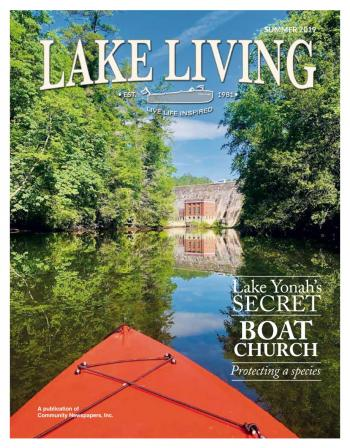 Lake Living cover