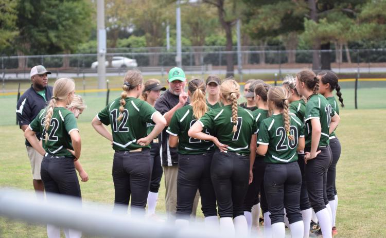The Franklin County Lady Lions have to win one of the two possible games today on their home field to bring home a second consecutive state softball championship.