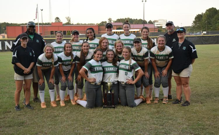 The Franklin County Lady Lions defeated Jefferson 6-5 Thursday to win the Region 8AAA softball championship.