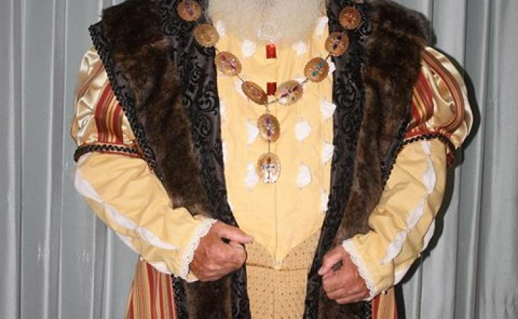 King Henry will be on the grounds at the Lavonia Renaissance Festival Saturday.