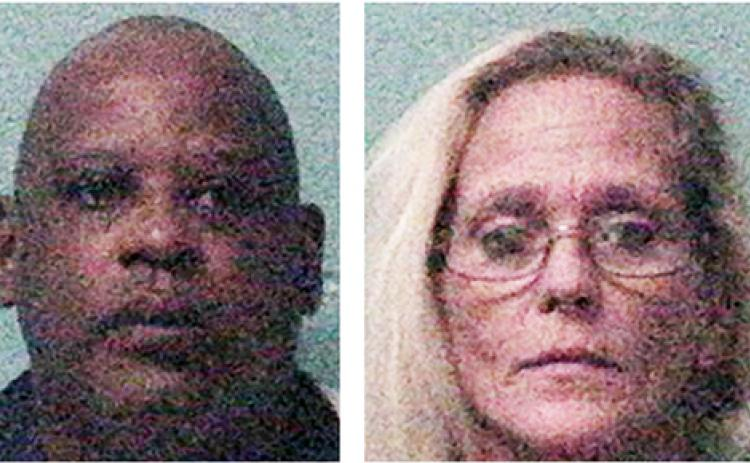 Randy Steward Hill, 50, of Carnesville and Geraldine Miller, 49, of Social Circle have been arrested for a 2015 theft from a Carnesville convenience store.