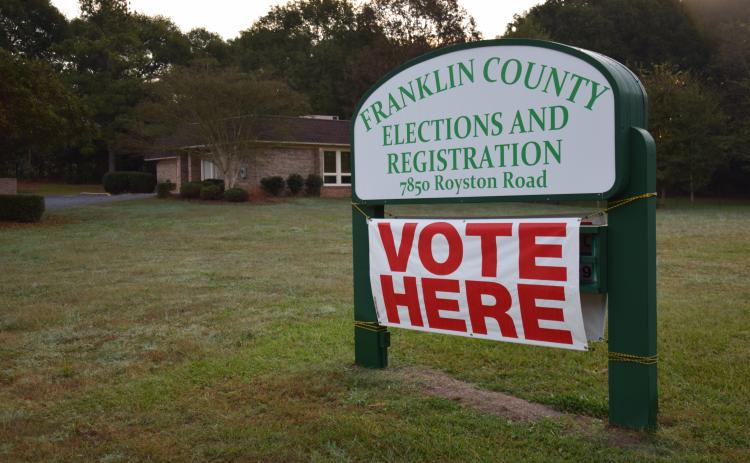 Early in-person voting for the June 9 primary election will begin Monday.