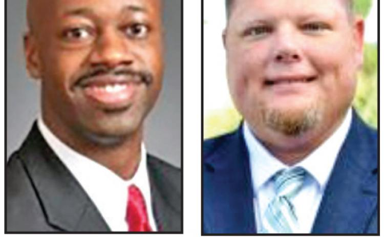 Either Derrick C. Turner of Buford or Bert Rosenberger of Milledgeville will be chosen as county manager on Feb. 9 in a called commissioners' meeting.
