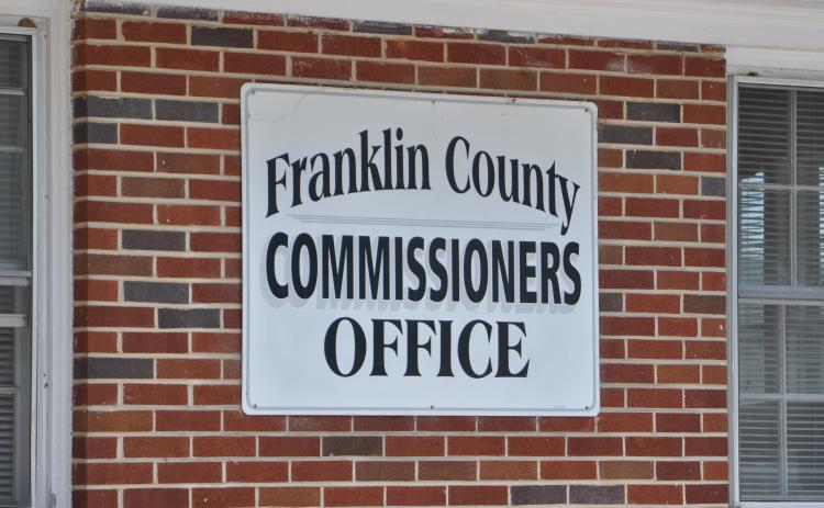 The first Franklin County Board of Commissioners' meeting of the new year brought with it a new chairman, a new board member, some newly enforced rules and talk of a new manager.